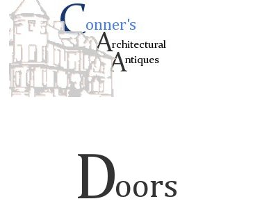 ConnersAA Quik-List of Doors